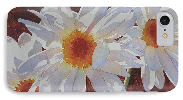 Daisy Dazzle IPhone Case by Judy Mercer