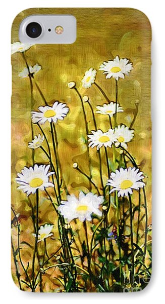 IPhone Case featuring the photograph Daisy Field by Donna Bentley
