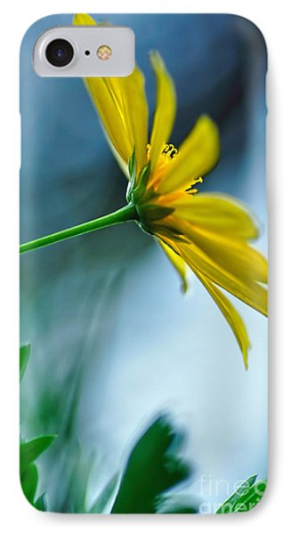 Daisy In The Breeze Phone Case by Kaye Menner