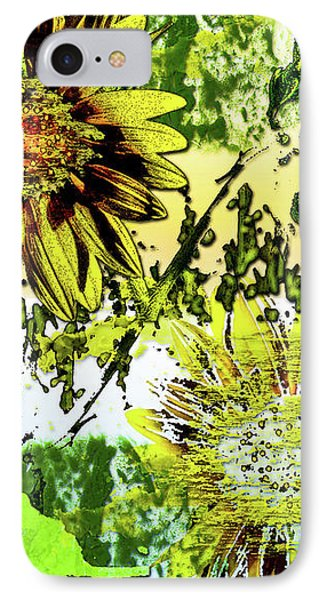 Sunflower On Water IPhone Case