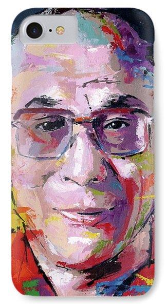 Dalai Lama IPhone Case by Richard Day