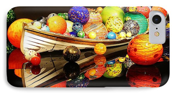 Glass Sculpture Boat IPhone Case by Bruce Bley