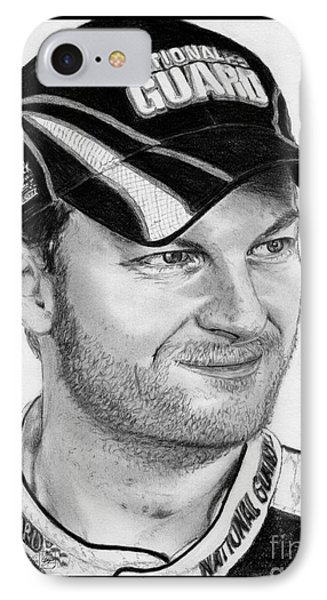 Dale Earnhardt Jr In 2009 Phone Case by J McCombie