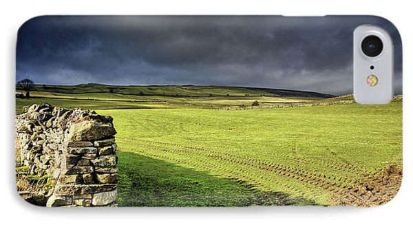 Dales Storm Clouds IPhone Case by Nichola Denny