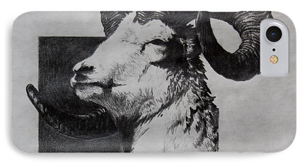 Dall Ram IPhone Case