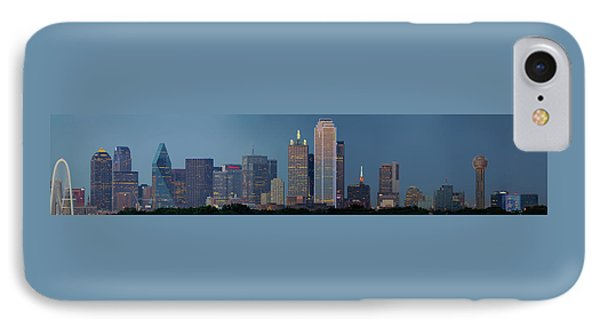 Dallas At Night IPhone Case by Jonathan Davison