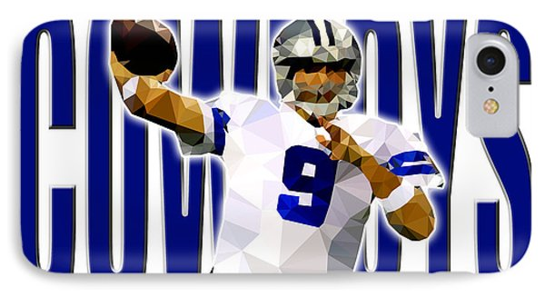 Dallas Cowboys IPhone Case by Stephen Younts