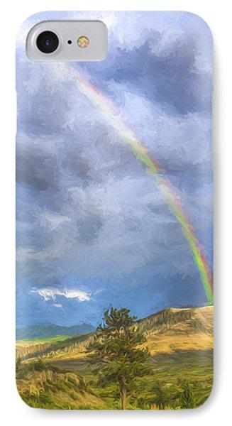 Dallas Divide Rainbow II IPhone Case
