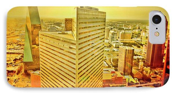 Dallas Gold Phone Case by Douglas Barnard