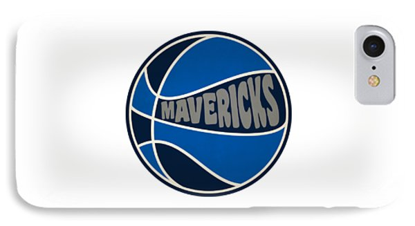 Dallas Mavericks Retro Shirt IPhone Case