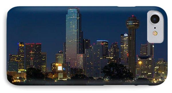 Dallas Skyline Trinity Panorama IPhone Case by Jonathan Davison