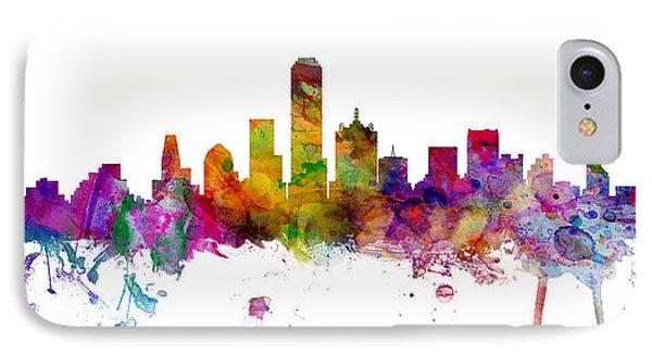 Dallas Texas Skyline Panoramic IPhone 7 Case