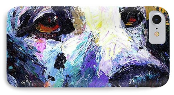 Dalmatian Dog Close-up Painting By IPhone Case