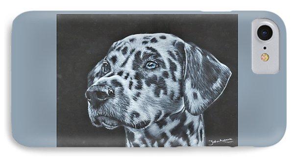 Dalmation Portrait IPhone Case