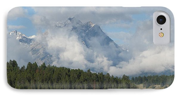 IPhone Case featuring the photograph Dam Clouds by Greg Patzer