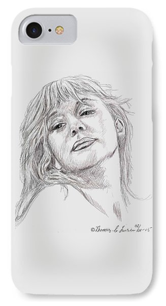 Dame Helen Mirren IPhone Case