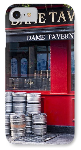 Dame Tavern Phone Case by Rae Tucker