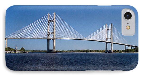 Dames Point Bridge IPhone Case