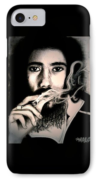 Damian Marley IPhone Case by Magz Ojeda