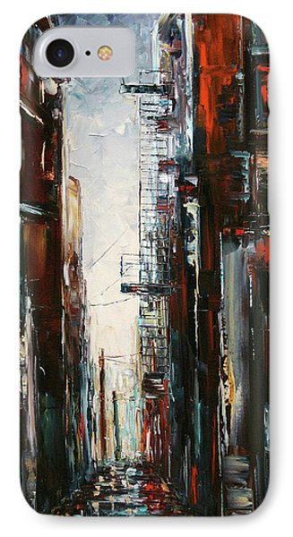 Damp And Cold Phone Case by Debra Hurd