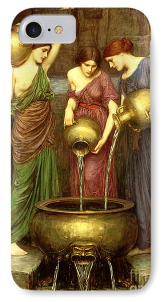 Danaides IPhone Case by John William Waterhouse