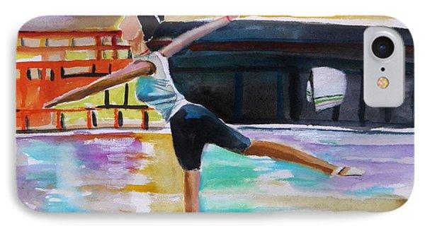 Dance Class IPhone Case by John Williams