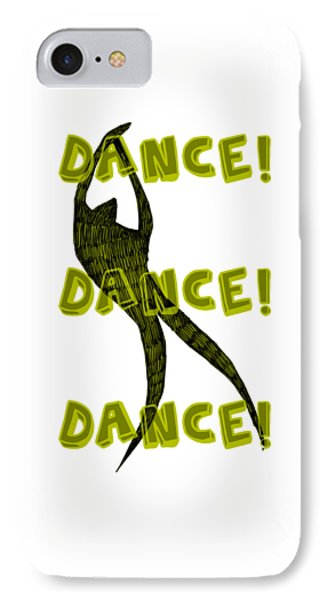 Dance Dance Dance Phone Case by Michelle Calkins