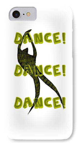 Dance Dance Dance IPhone Case by Michelle Calkins