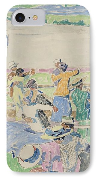 Dance Floor IPhone Case by Carl Wilhelmson