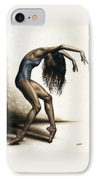Dance Intensity IPhone Case by Richard Young