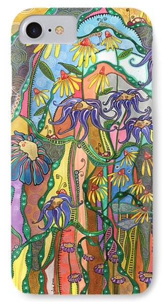 IPhone Case featuring the painting Dance Of Life by Tanielle Childers