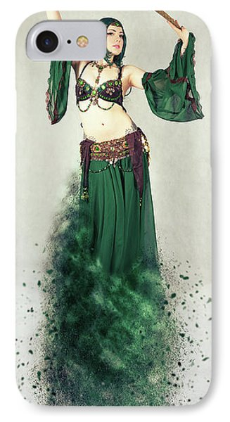 Dance Of The Belly IPhone Case by Nichola Denny