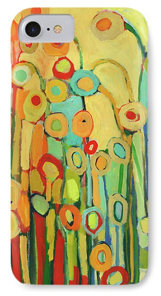 Floral iPhone 7 Case - Dance Of The Flower Pods by Jennifer Lommers