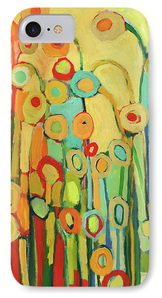 Dance Of The Flower Pods Phone Case by Jennifer Lommers