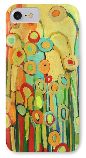 Dance Of The Flower Pods IPhone Case by Jennifer Lommers
