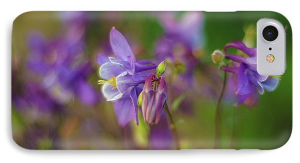Dance Of The Lavender Columbines IPhone Case