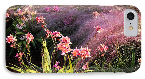 Dance Of The Orchids Phone Case by Rosalie Scanlon