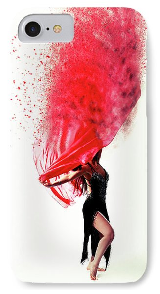 Dance Of The Viel IPhone Case by Nichola Denny