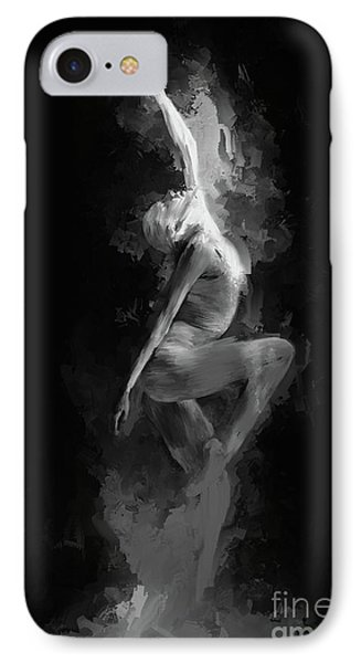 Dance On The Floor  IPhone Case by Gull G