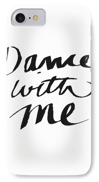 Dance With Me- Art By Linda Woods IPhone Case