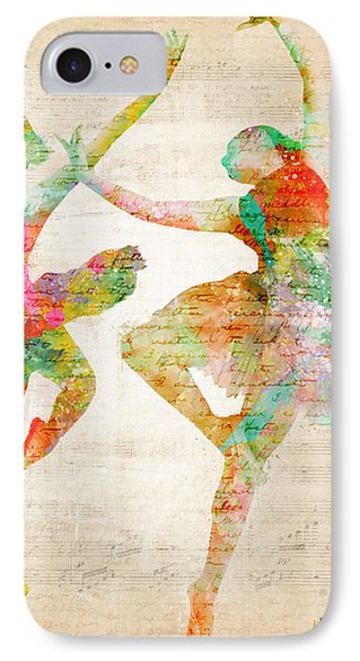 Dance With Me Phone Case by Nikki Smith