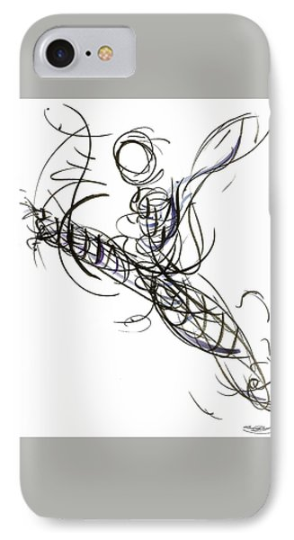 Dance Leap Force IPhone Case by Laura Higgins Palmer