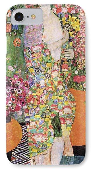 Dancer IPhone Case by Gustav Klimt