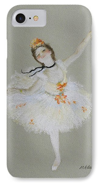 Dancer IPhone Case by Marna Edwards Flavell