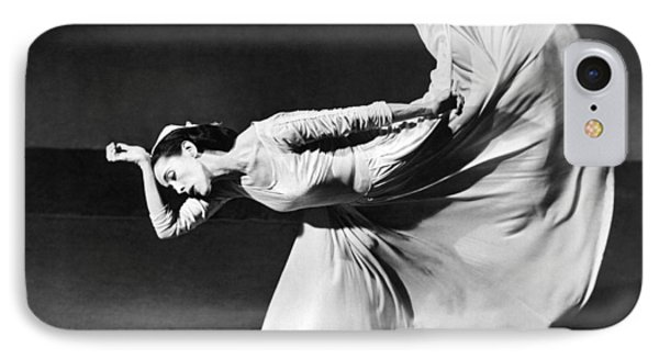 Dancer Martha Graham IPhone Case by Underwood Archives