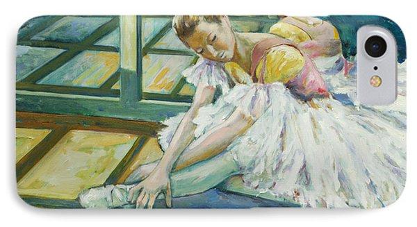 Dancer IPhone Case by Rick Nederlof