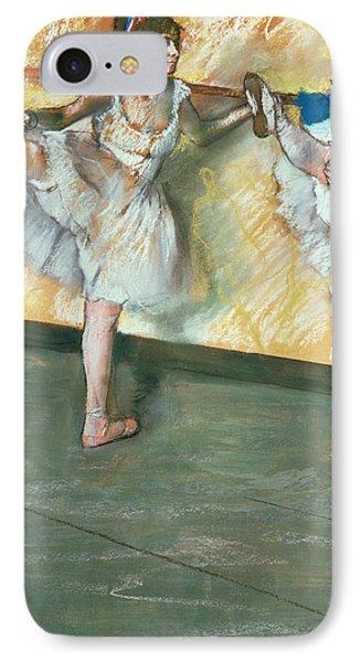 Dancers At The Bar Phone Case by Edgar Degas