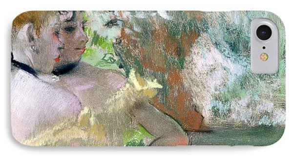 Dancers In The Wings  Phone Case by Edgar Degas