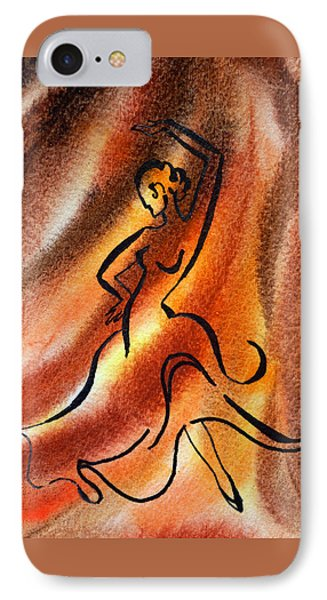 Dancing Fire IIi Phone Case by Irina Sztukowski