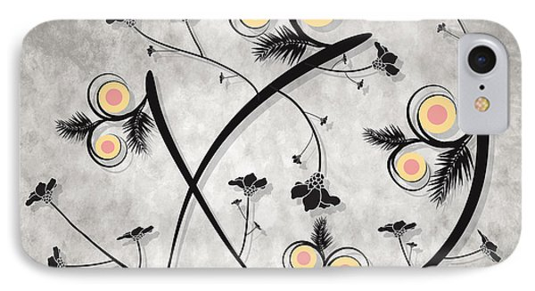 Dancing Flowers IPhone Case by Milena Ilieva